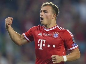 Shaqiri suffers thigh injury