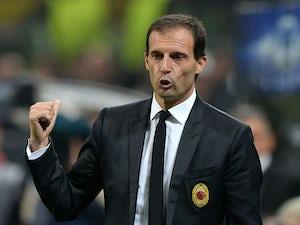 Allegri slams naive Milan