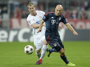 Robben out of Plzen clash