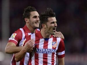 Half-Time Report: Villa, Costa goals give Atletico the lead