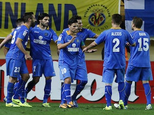 Result: Getafe edge past 10-man Villarreal