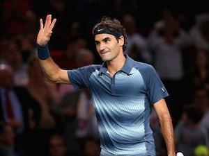 Result: Federer through in straight sets