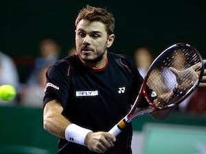 Result: Wawrinka through at Paris Masters