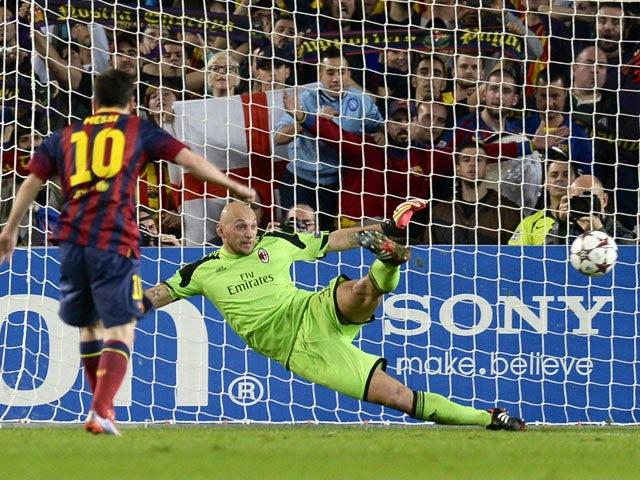 Result: Barcelona ease past Milan