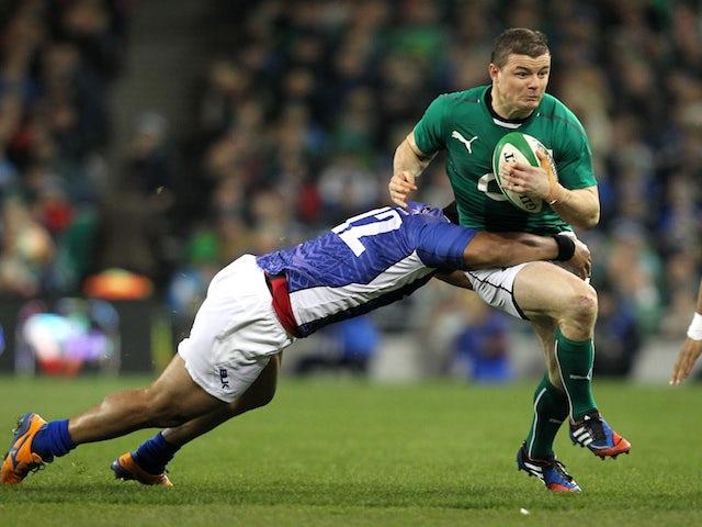 Result: Ireland tank Samoa in Dublin