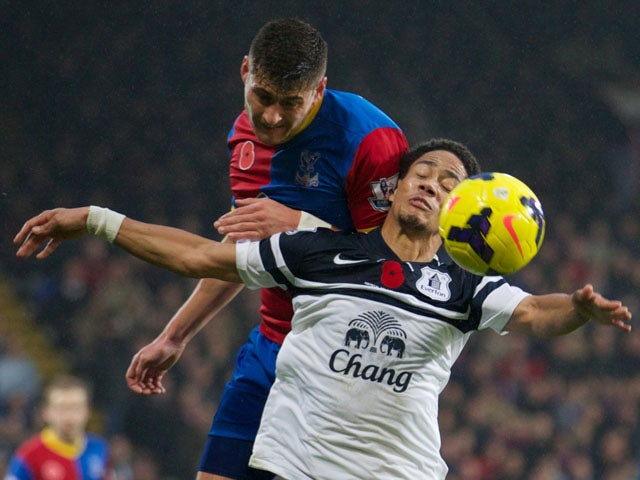 Result: Crystal Palace hold Everton