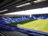 A general view of Birmingham City's St Andrews stadium on February 25, 2012