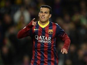 Report: Pedro to leave Barcelona