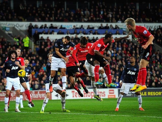Result: Cardiff earn late draw against Man Utd