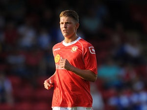 Crewe's Max Clayton in action against Blackburn during a friendly match on July 16, 2013