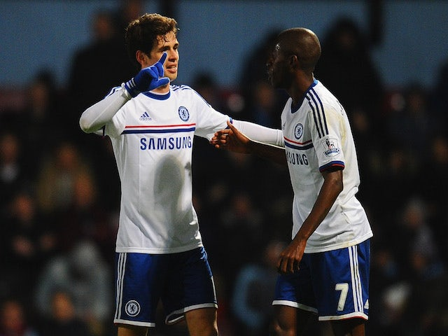 Result: Chelsea go third with West Ham win