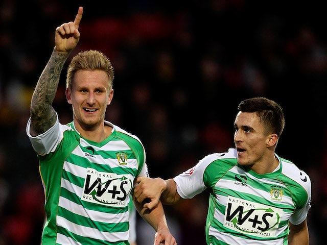 Result: Yeovil claim vital win over Blackpool