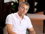 Phil Neville during a photoshoot for the documentary 'The Class of '92'