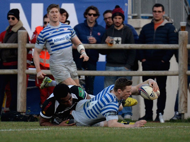 Result: Saracens cruise to win over Zebre
