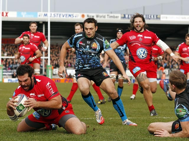 Result: Toulon kick to victory over Exeter