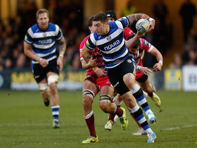 Result: Banahan scores four tries in Bath rout