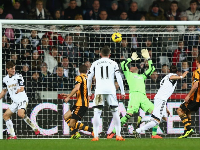 Result: Hull hold Swansea to draw