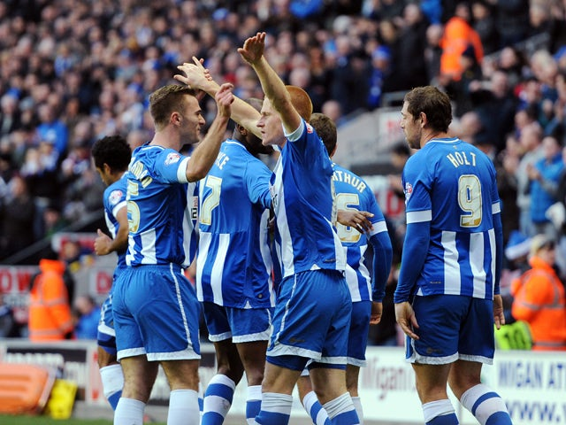 Result: McManaman strike seals Wigan win
