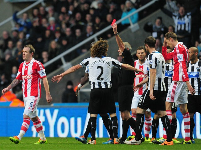 Result: Newcastle thrash nine-man Stoke