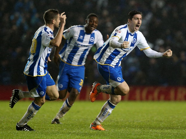 Result: Late Ward goal earns draw for Brighton