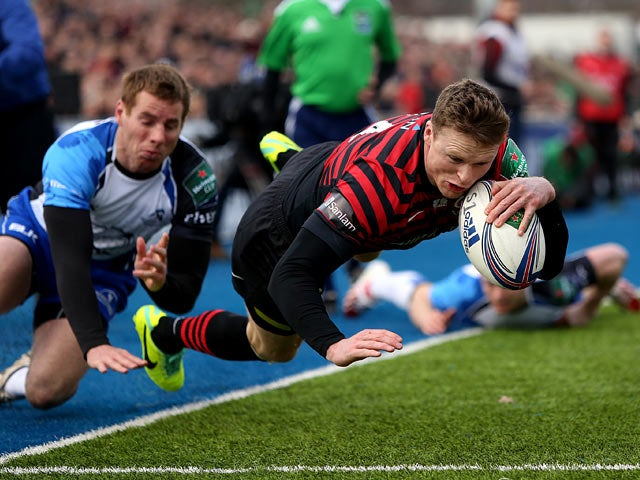Result: Strettle hat-trick leads Saracens rout