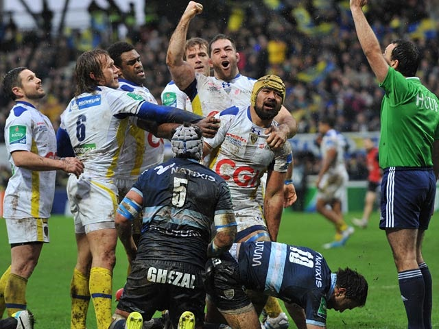 Result: Clermont Auvergne hold off Munster