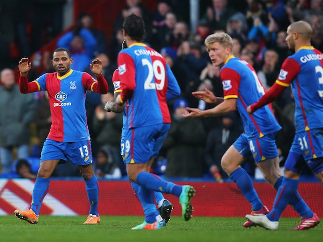 Result: Palace edge past Stoke