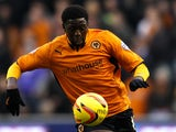 Bakary Sako of Wolves in action during the Sky Bet League One game between Wolverhampton Wanderers and Brentford at Molineux on November 23, 2013
