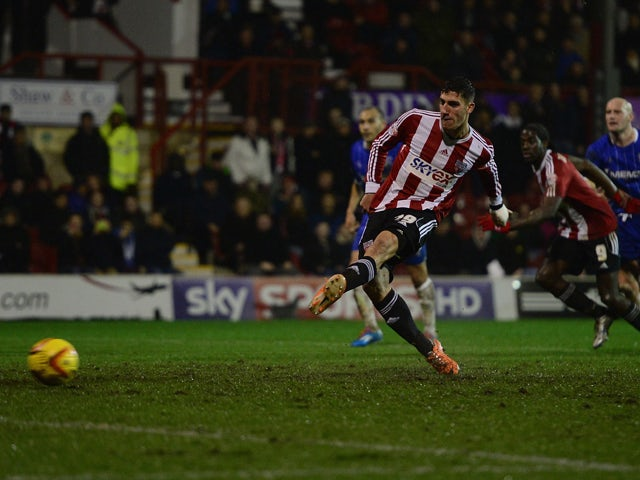 Result: Trotta goal gives Brentford win