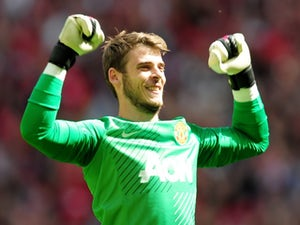 De Gea delighted to start for Spain