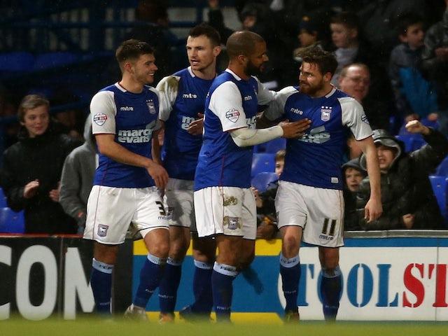 Result: Ipswich ease past Huddersfield