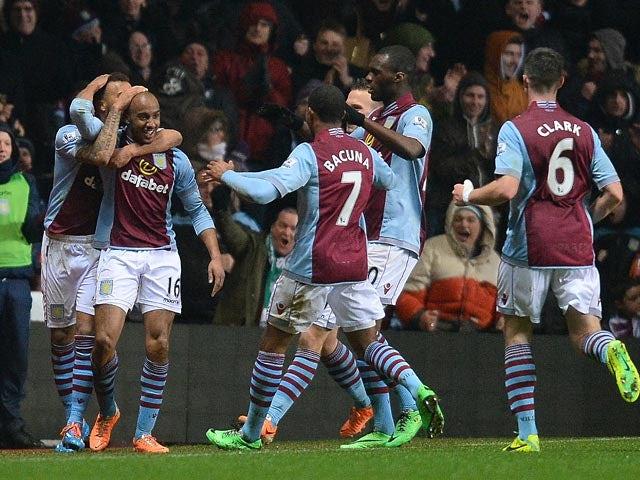 Result: Villa win thrilling derby
