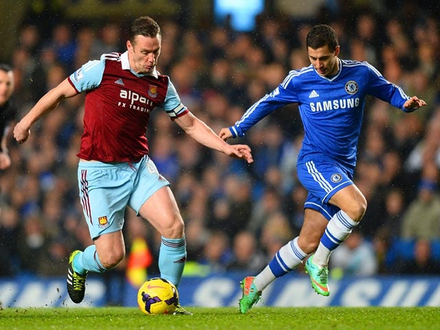 Result: Hammers hold Chelsea