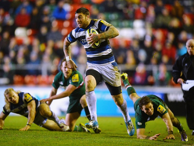 Result: Bath too strong for Leicester