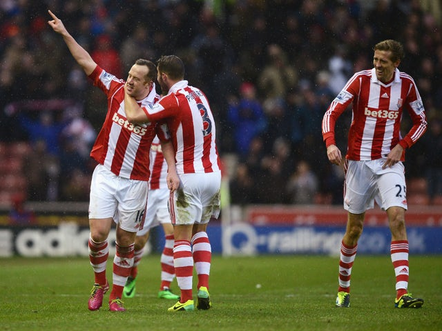 Result: Stoke beat United for first time in PL