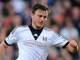 William Kvist of Fulham in action during the Barclays Premier League match between Fulham and Southampton at Craven Cottage on February 1, 2014