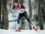 Callum Smith of Great Britain competes in the Men's Skiathlon 15 km Classic + 15 km Free during day two of the Sochi 2014 Winter Olympics at Laura Cross-country Ski & Biathlon Center on February 9, 2014
