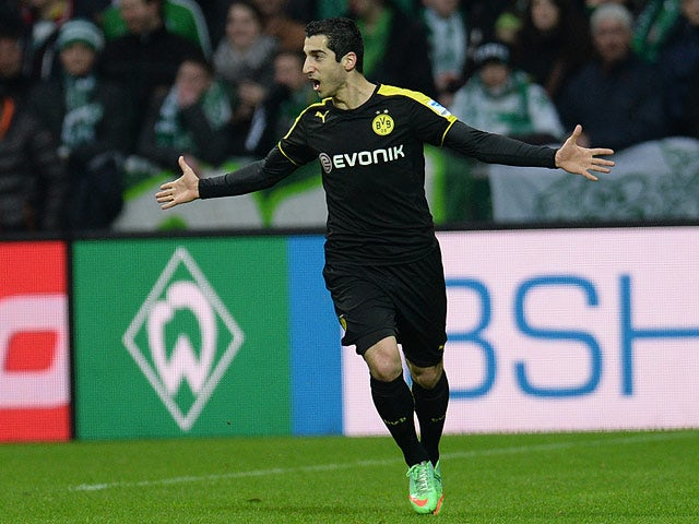 Result: Dortmund put five past Bremen