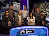 BT Sport's new MotoGP presenting line-up featuring James Toseland, Gavin Emmett, Iwan Thomas, Neil Hodgson, Mel Sykes, Julian Ryder and Craig Doyle. Pictured on February 13, 2014