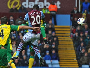 Benteke returns to training