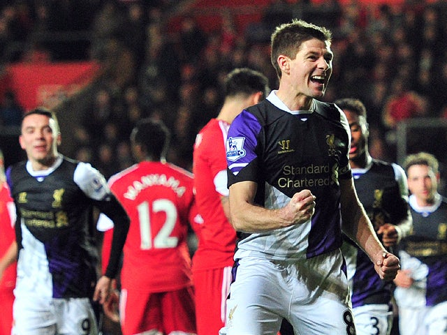 Result: Liverpool up to second