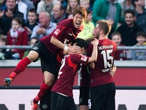 Result: Nuremberg on brink after Hannover defeat