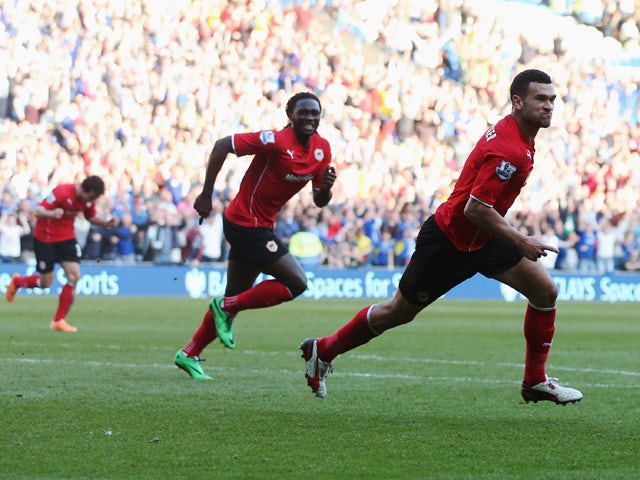 Result: Caulker scores twice in win over Fulham