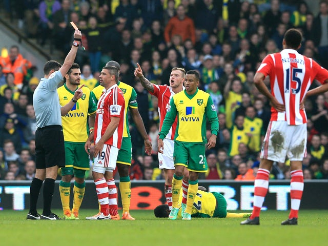 Result: Canaries held by Stoke
