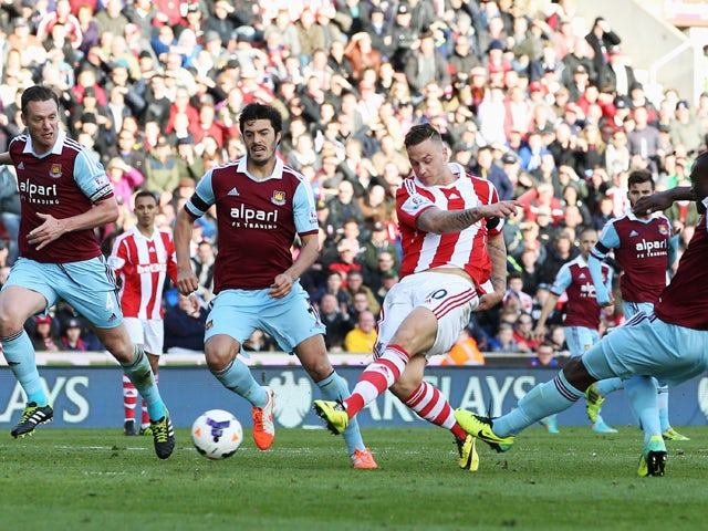 Result: Stoke too good for Hammers