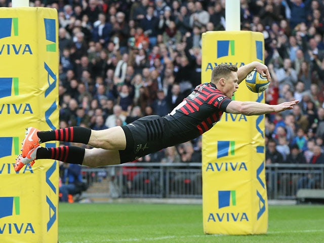Result: Saracens win to go top