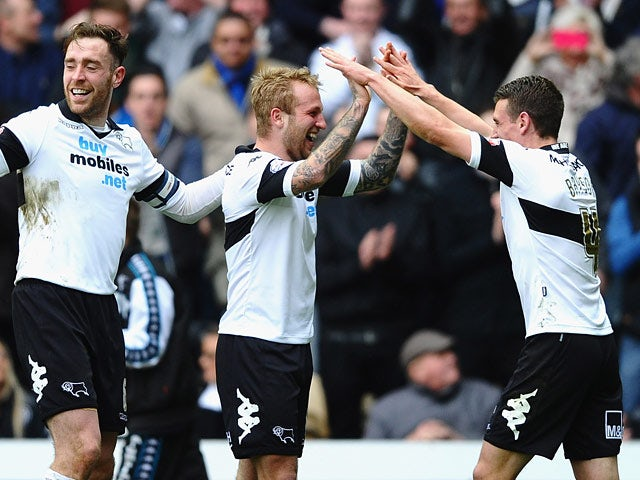 Result: Derby hold on to beat Barnsley