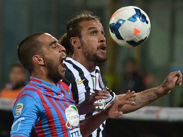 Result: Juventus edge past 10-man Catania