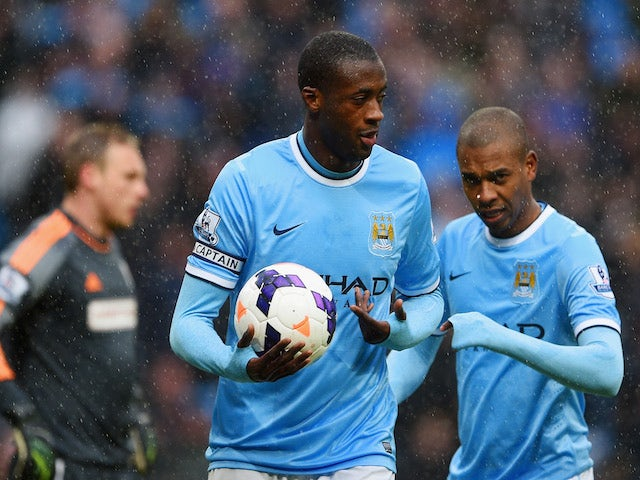 Result: Toure hat-trick downs Fulham
