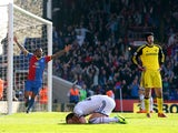 A dejected John Terry of Chelsea reacts after opening the scoring with an own goal during the Barclays Premier League match between Crystal Palace and Chelsea at Selhurst Park on March 29, 2014